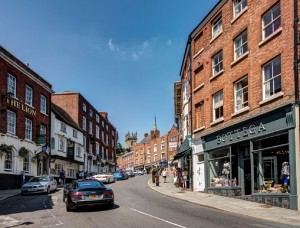 Wyle Cop, Shrewsbury. Shopping, architecture, things to do