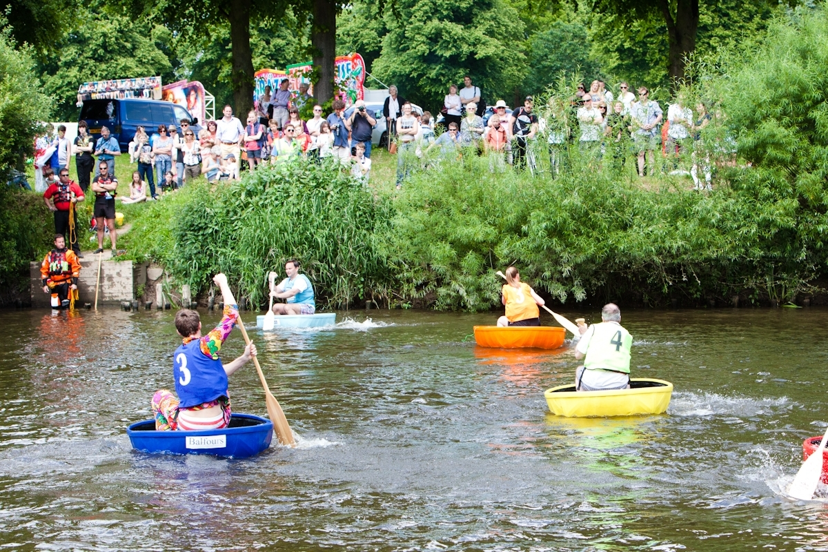 Coracle Race