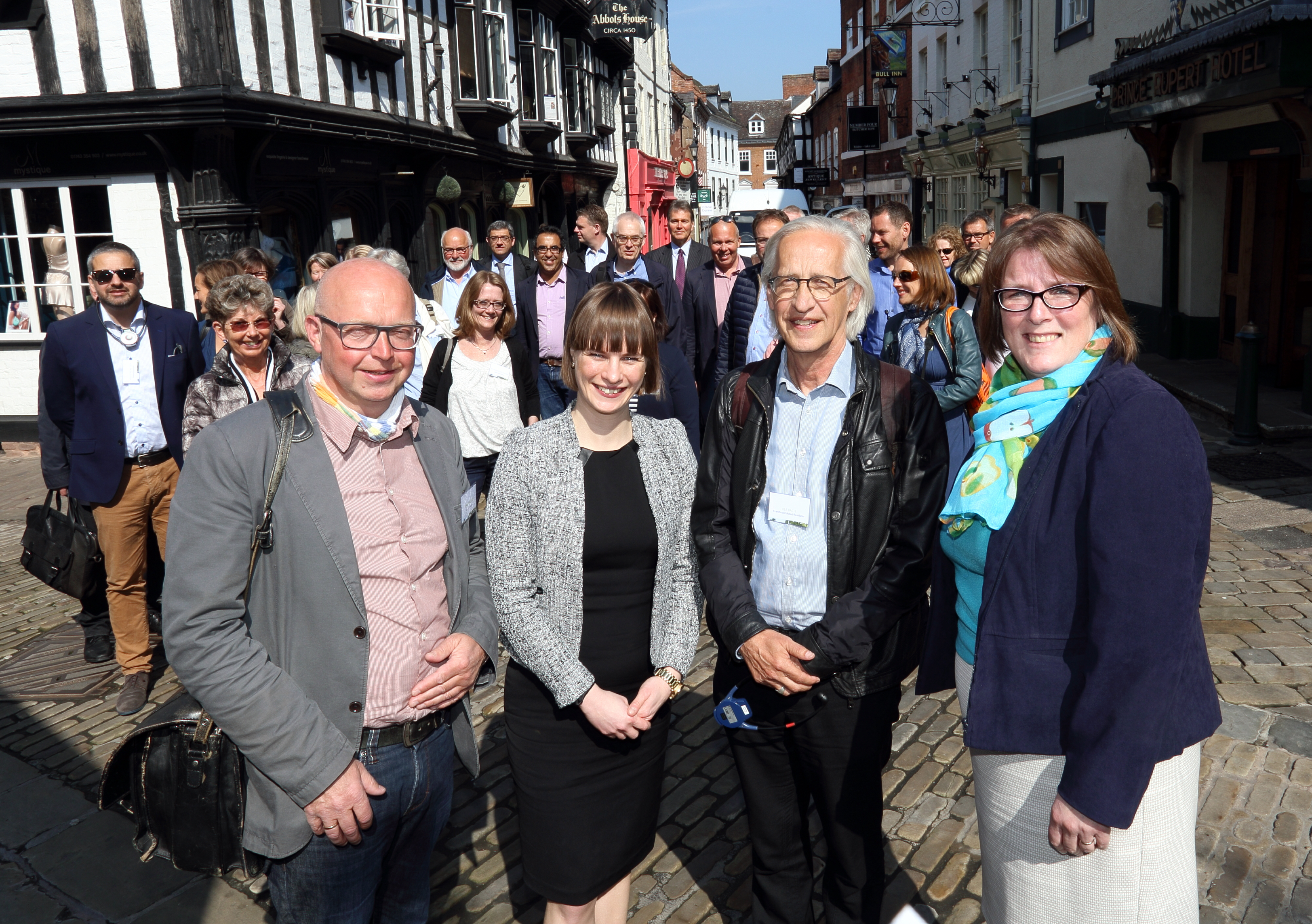 Shrewsbury BID welcomes Danish delegates