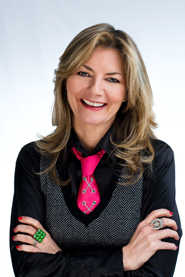Jo Caulfield comes to Henry Tudor House, Shrewsbury