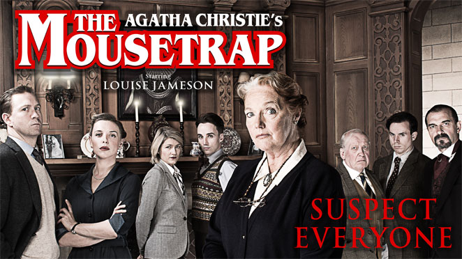 Agatha Christie's The Mousetrap at Theatre Severn, Shrewsbury