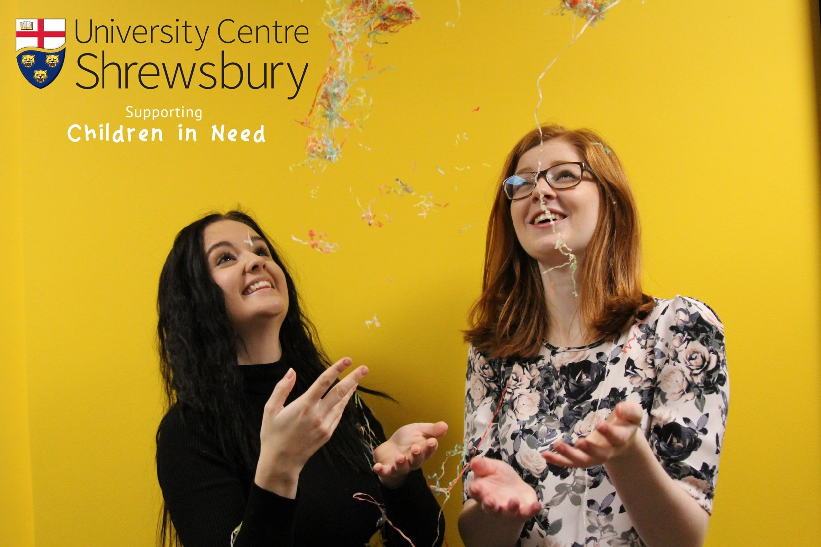 Children in Need at University Centre Shrewsbury