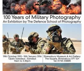Defence through the lens at Shrewsbury Museum and Art Gallery