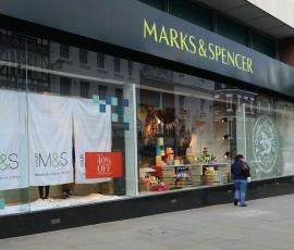 Marks and Spencer shopfront