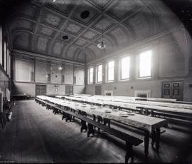 Shelton Hospital dining room