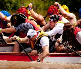 River events and festivals in Shrewsbury, Shropshire