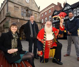 Shrewsbury BID meets Northern Ireland BID teams