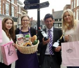 Wysteria Lane, Deliciate and Tanners. Independent shopping in Shrewsbury