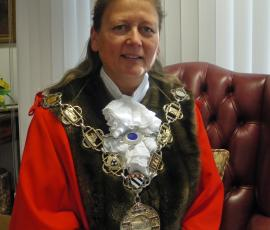 Shrewsbury Mayor Beverly Baker
