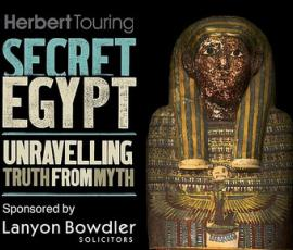 Secret Egypt at Shrewsbury Museum & Art Gallery