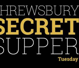 Shrewsbury Secret Supper 2016