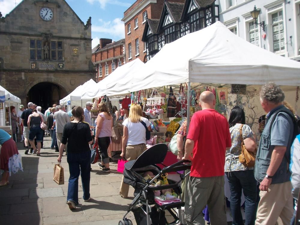 Made in Shropshire Arts and Crafts Market