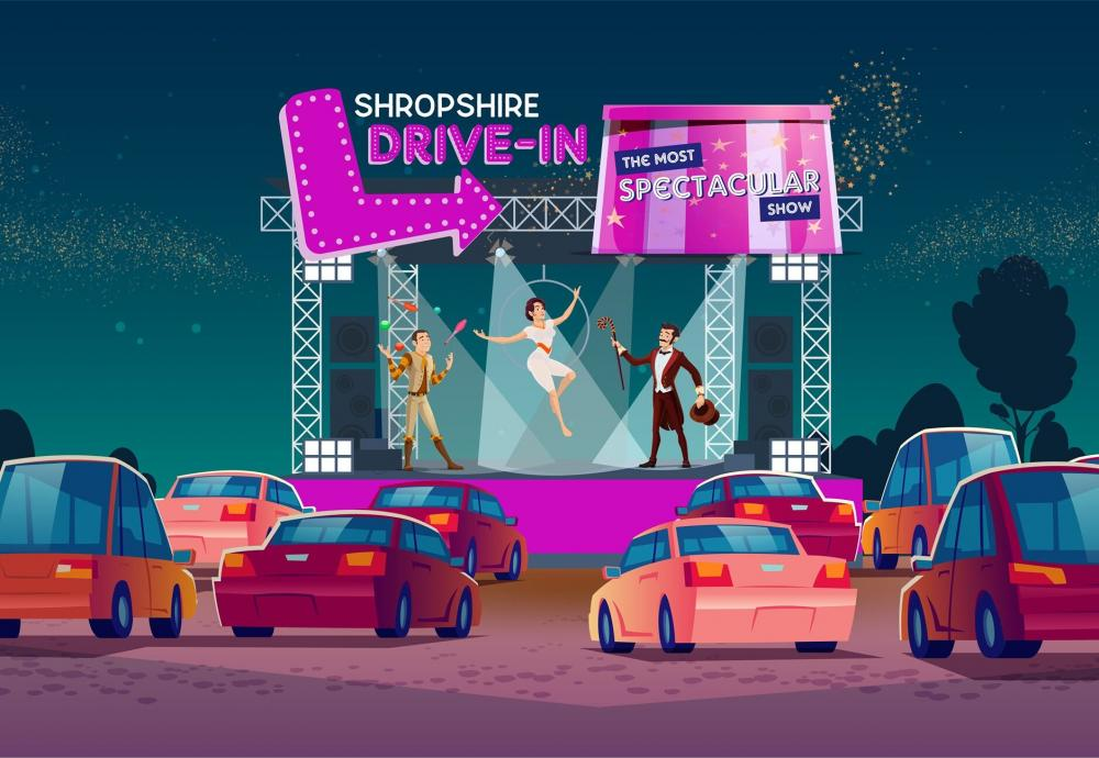 The Most Spectacular Show at Shropshire Drive-In