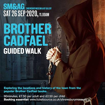 Brother Cadfael Guided Walk - Cancelled