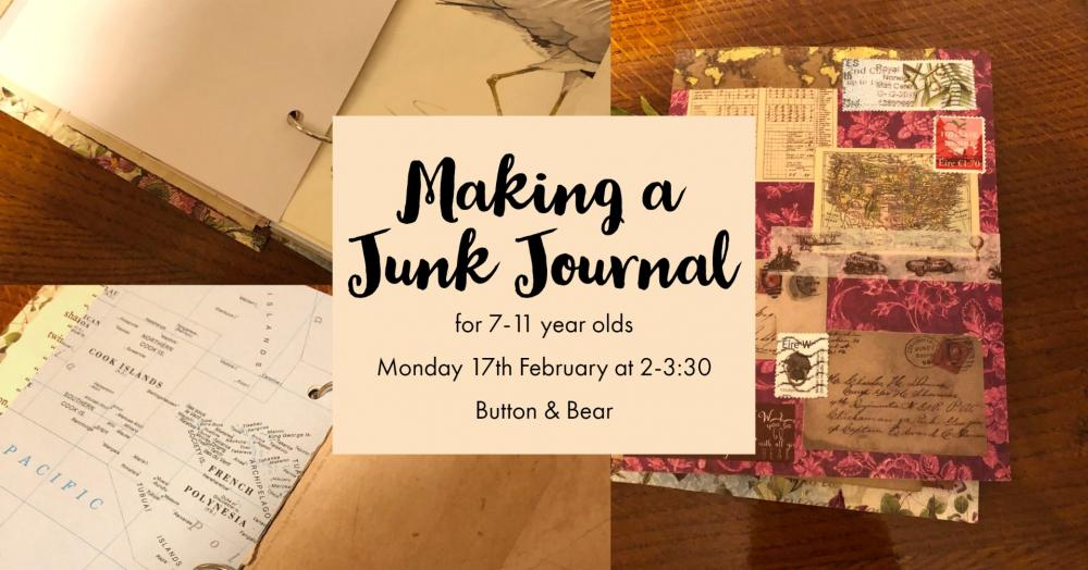 Making a Junk Journal for 7-11 Years Old