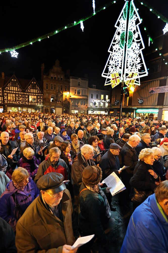 Carols in the Square, Shrewsbury