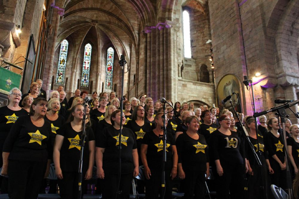 Shropshire Rock Choir LIVE!