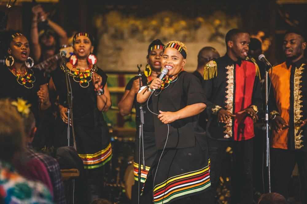 The London African Gospel Choir: Paul Simon's Graceland
