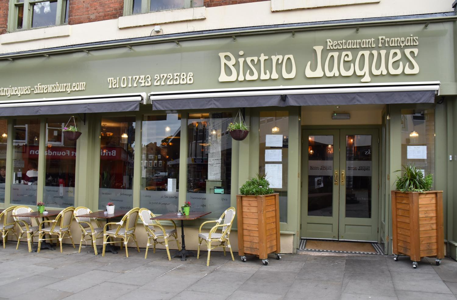 Bistro Jacques Shrewsbury