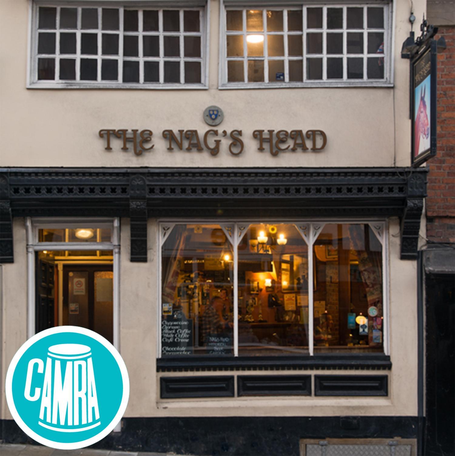The Nag's Head named by CAMRA as must-visit haunted pub