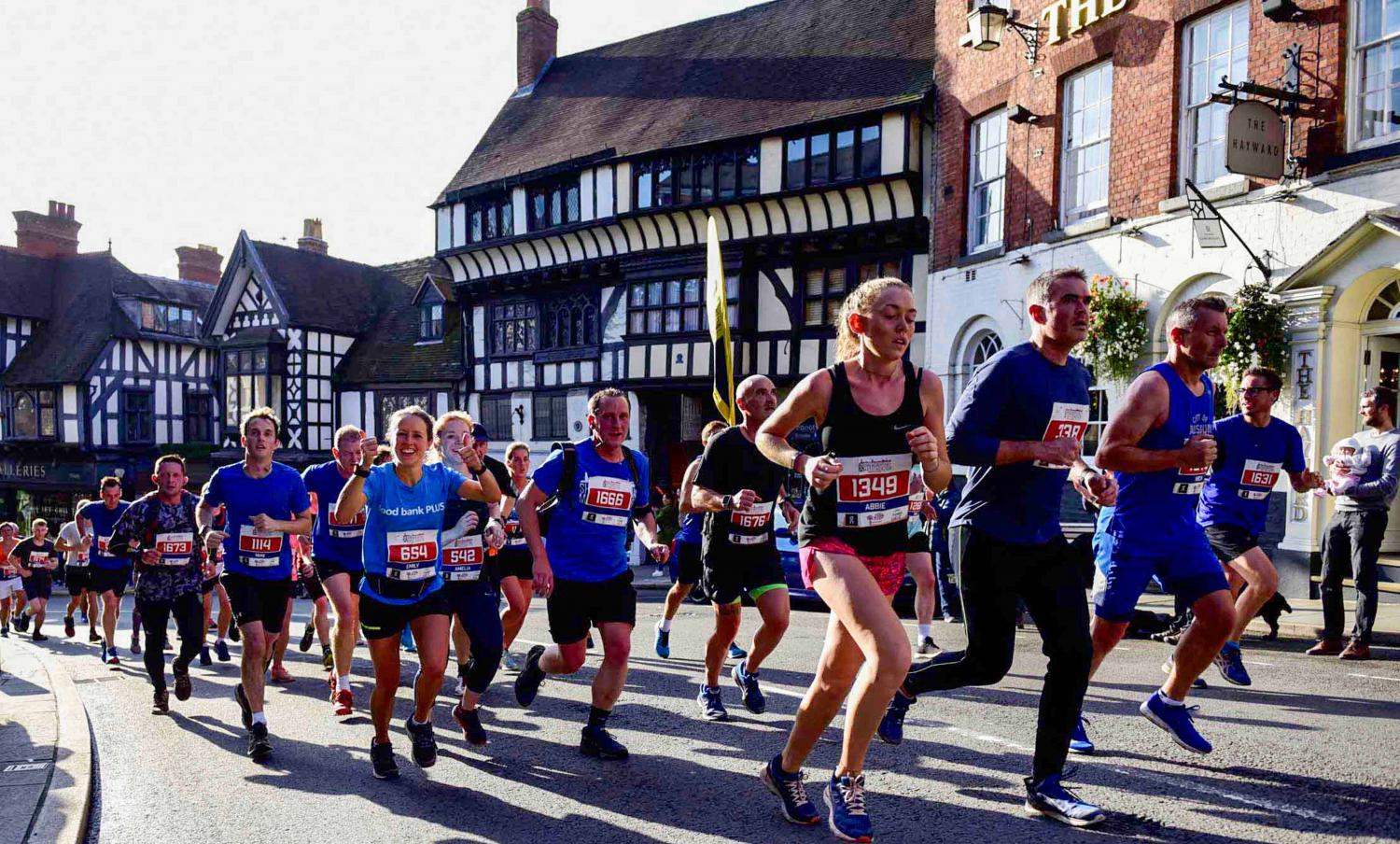 Early bird entries open for Shrewsbury Half Marathon 2020