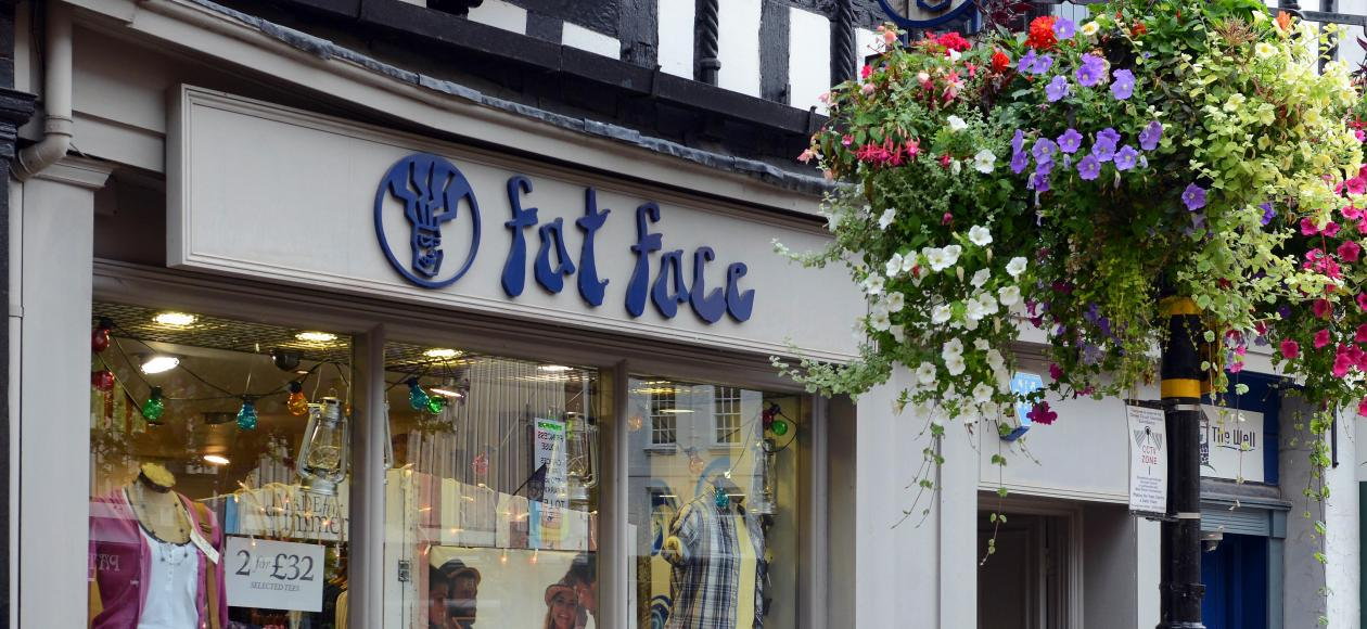 Fat Face, Shrewsbury