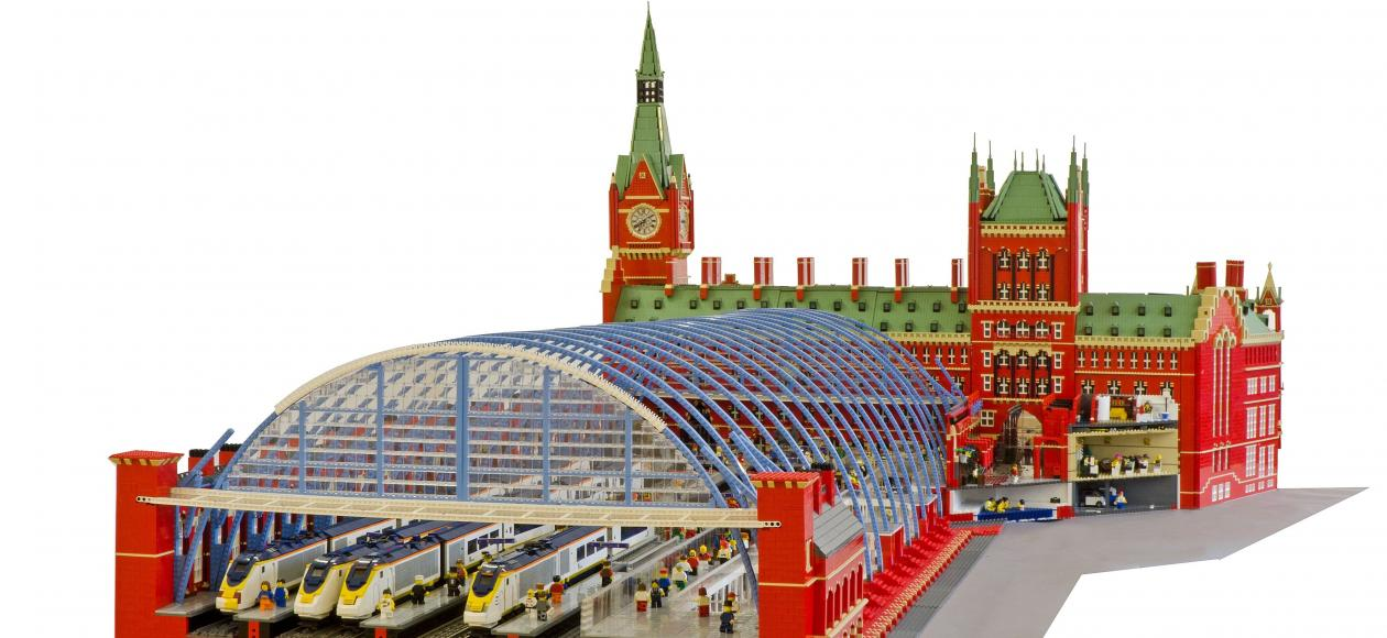 A World of Lego at Shrewsbury Museum and Art Gallery. Things to do in Shrewsbury, Shropshire