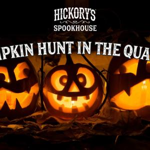 Pumpkin Hunt from Hickory's Smokehouse
