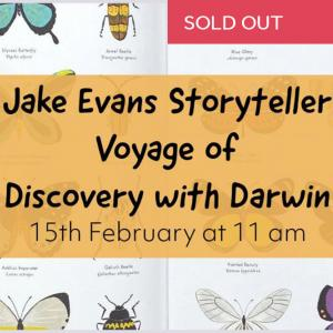 Jake Evans' Voyage of Discovery with Darwin