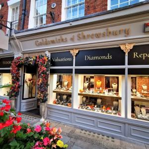Goldsmiths of Shrewsbury Shopfront