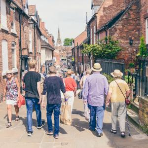 Walking tours of Shrewsbury