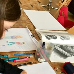 Darwin themed Big Draw drop-in art workshops