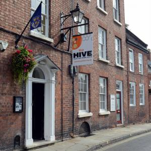 The Hive celebrates £350,000 National Lottery funding