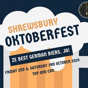 Shresbury Oktoberfest at Tap and Can