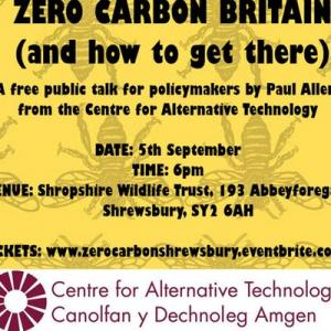 Zero Carbon Britain and how to get there. A talk hosted by XR Shrewsbury