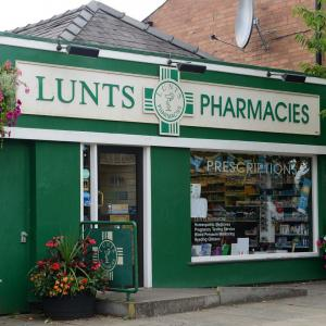 Lunts Pharmacy Shrewsbury