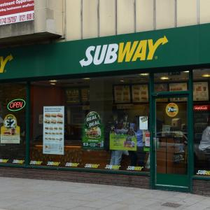 Subway, St Mary's Street Shrewsbury