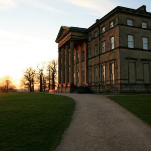 Attingham Park, Shrewsbury, Shropshire. National Trust. Stately homes