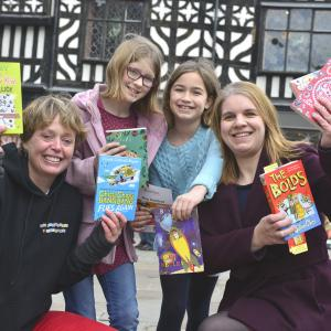 Galliers homes and properties sponsor Shrewsbury Bookfest