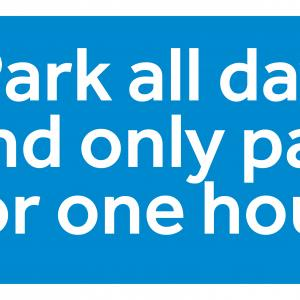 Sunday car parking offer