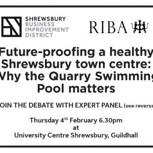 Shrewsbury BID Quarry Swimming Pool Debate