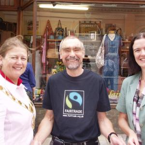 Campaigners In Shrewsbury Call For Support In Fairtrade Fortnight 2015