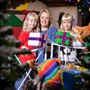Christmas grotto in the Shrewsbury Shoping Centre, Darwin and Pride Hill. Visit Santa Claus
