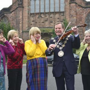 Shrewsbury Mayor charity concerts