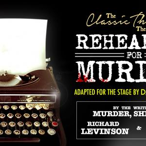Rehearsal for Murder at Theatre Severn