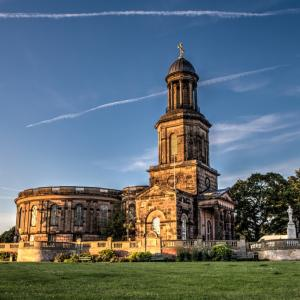 St Chad's Shrewsbury, churches in Shropshire, historic buildings