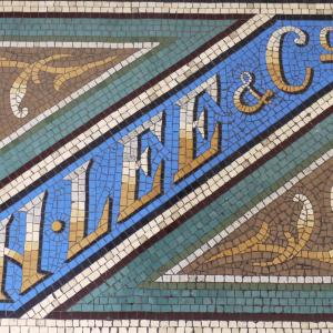 Shrewsbury's historic threshold mosaics