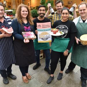 Shrewsbury Market Hall enters national awards  for 'Best Food Hall'