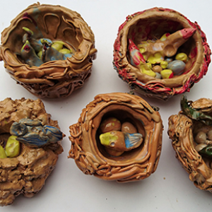 Easter Potters - Nest Making