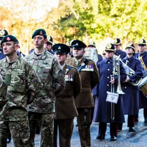 Remembrance Service Shrewsbury